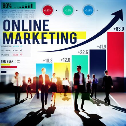 Online-Marketing Konzept