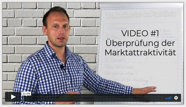 Onlinemarketing-Video Idenvalidierung