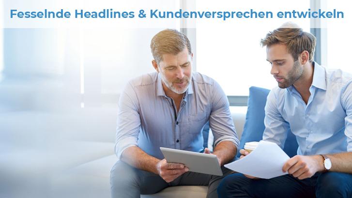 Fesselnde Headlines entwickeln