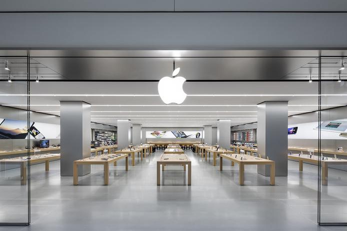 Startseiten-Beispiel Apple